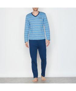 R essentiel | Пижама Двухцветная С V-Образным Вырезом. Длинные Рукава
