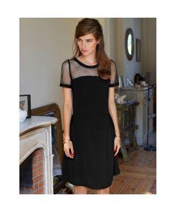 MADEMOISELLE R | Платье Со Вставками Из Тюля