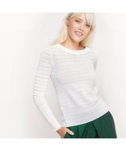 MADEMOISELLE R | Пуловер С Круглым Вырезом И Застежкой На Пуговицы Сзади