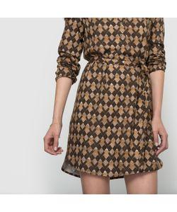 Paramita | Платье С Рисунком И Длинными Рукавами