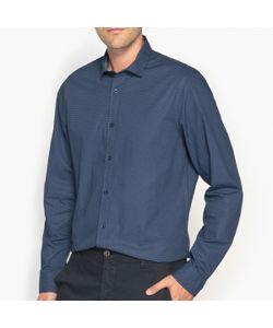R édition | Рубашка-Слим С Рисунком 100 Хлопок