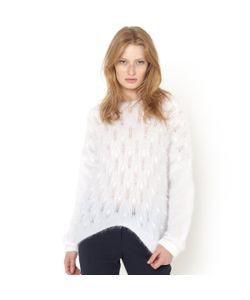 SOFT GREY | Пуловер С Объемным Рисунком