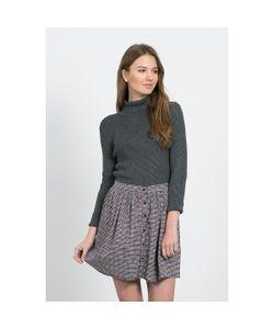 Compania Fantastica   Юбка Короткая С Рисунком Clueless Skirt