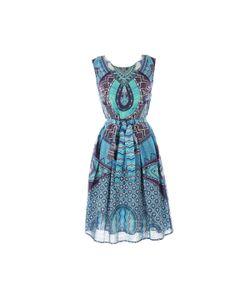 Rene Derhy | Платье Короткое Без Рукавов С Рисунком