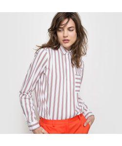R essentiel | Рубашка В Полоску Из Поплина Стретч. Длинные Рукава