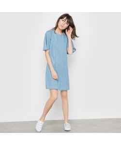 R essentiel | Платье Из Денима С Широкими Рукавами