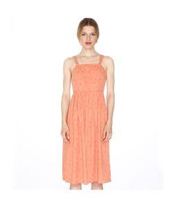 Pepaloves | Платье На Бретелях Отрезное По Спинке Застежка Сбоку
