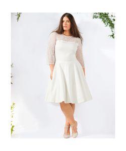 CASTALUNA | Короткое Свадебное Платье