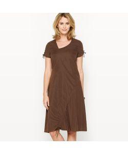 ANNE WEYBURN | Платье Из Микрофибры На Ощупь Напоминающее Кожу Персика