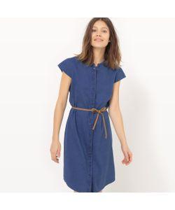 Vero Moda | Платье Короткое С Короткими Рукавами И Круглым Вырезом