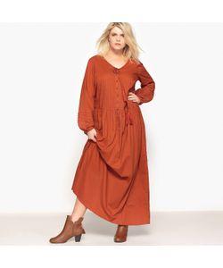 CASTALUNA | Платье Длинное Длинные Рукава
