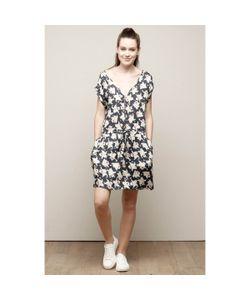 Charlise | Платье С V-Образным Вырезом И Цветочным Рисунком