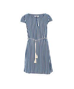 Paramita   Платье С Короткими Рукавами В Полоску И Круглым Вырезом