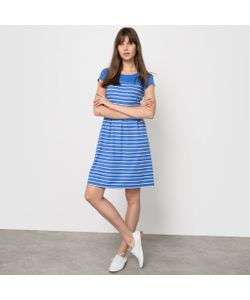 Мини-цена | Платье В Полоску С Короткими Рукавами Из Трикотажа Милано