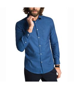 Esprit | Рубашка С Рисунком С Длинными Рукавами 100 Хлопка