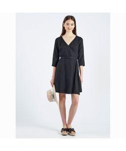 Compania Fantastica | Платье С Запахом Vestido Negro Maqi