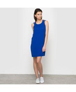 Color Block | Платье С Двойными Бретелями Украшенными Бахромой