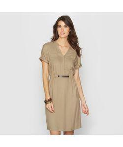 ANNE WEYBURN | Платье Из Струящейся Ткани 100 Вискозы