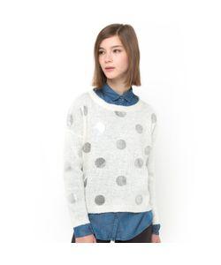 Мини-цена | Пуловер В Блестящий Горошек