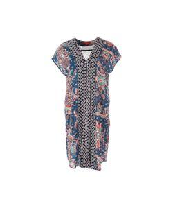 Rene Derhy | Платье Прямое С Короткими Рукавами И Рисунком