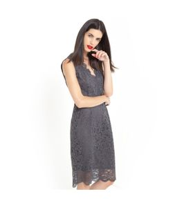 LAURA CLEMENT | Платье Прямого Покроя С Отделкой Кружевом