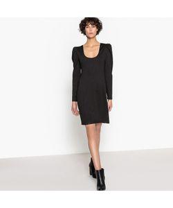 MADEMOISELLE R   Платье Облегающее С Глубоким Вырезом Сзади И Длинными Рукавами