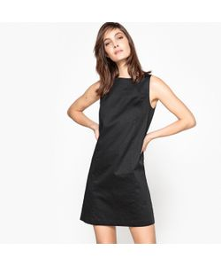 R édition | Платье Прямое Однотонное Из Хлопка