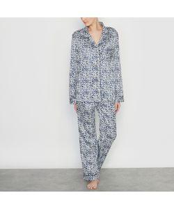 LOUISE MARNAY | Пижама Из Сатина С Рисунком