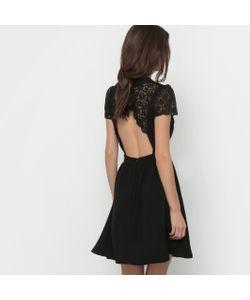 MADEMOISELLE R | Платье С Короткими Рукавами И Верхом Из Кружева