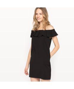 See U Soon | Платье С Открытыми Плечами С Воланами