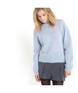 SOFT GREY | Пуловер Из Трикотажа И Рукавами С Напуском