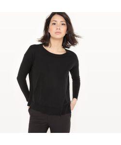 R essentiel | Пуловер С Круглым Вырезом Из Хлопка/Шелка