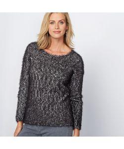 ANNE WEYBURN | Пуловер С Ворсистым Эффектом Из Оригинального Трикотажа