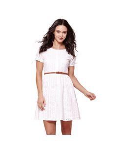 Yumi | Платье С Короткими Рукавами И Вышивкой