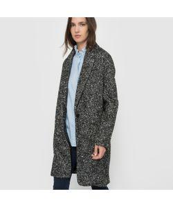 SCHOOL RAG | Пальто Из Ткани Меланж С Зигзагообразным Узором