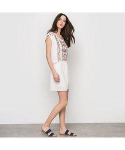 See U Soon | Платье Без Рукавов Пластрон С Вышивкой