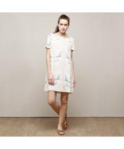 Charlise | Платье Прямое С Принтом И Вырезом-Каплей