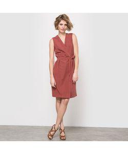 LAURA CLEMENT | Платье Футляр Без Рукавов V-Образный Вырез