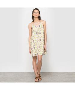 Color Block | Платье С Тонкими Бретелями И Рисунком В Виде Фруктов