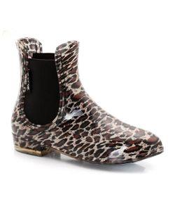 Be Only   Ботинки Защищающие От Дождя С Леопардовым Рисунком