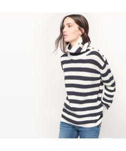 Pepe Jeans | Пуловер В Полоску Из Хлопка