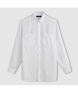 CASTALUNA FOR MEN | Рубашка С Длинными Рукавами Из Льна