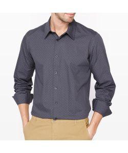 R essentiel | Рубашка Облегающая В Горошек С Длинным Рукавом