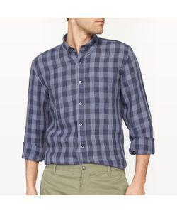 R essentiel | Рубашка В Клетку Прямого Покроя Из Льна