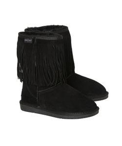 Minnetonka | Ботинки С Бахромой На Подкладке Из Мутона
