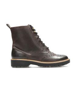 Clarks | Ботинки Кожаные На Шнуровке Witcombe Flo