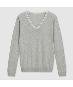 R essentiel | Пуловер 100 Хлопка С V-Образным Вырезом