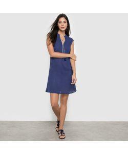 COULEURS D'ETE | Платье Из Вуали И Крепона