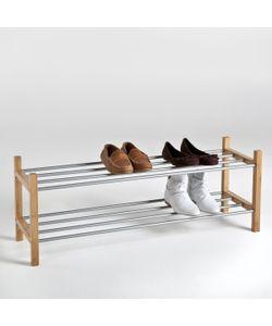 La Redoute Interieurs   Стеллаж Для Обуви Из Металла И Бамбука Bamboo