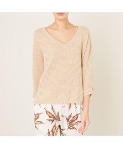 Stella Forest | Пуловер С V-Образным Вырезом И Люрексовой Нитью